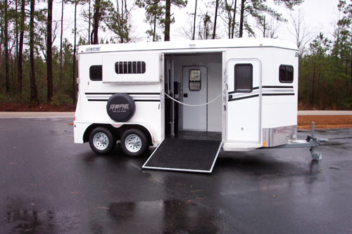 Gore Trailers Two Horse Trailer With Side Ramp And